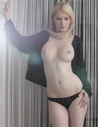 Tabitha,Touch of Perfection,Tabitha lets her knees fall gracefully open showing you exactly where she wants you to cum...