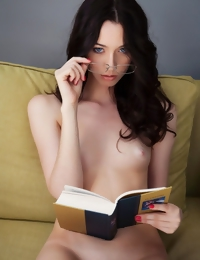 Zsanett Tormay portrays the shy yet curious college student who loves to study naked