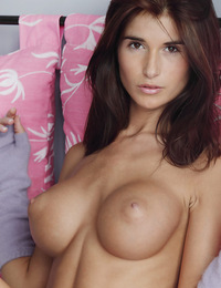 Katrina,Perfectly Pink,Katrina removes her thong panties and invites you to watch her perfect pink lips part.